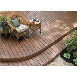 Composite Wood Deck Tiles