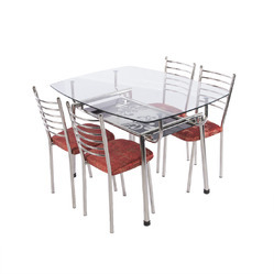 10mm Stainless Steel Dining Set