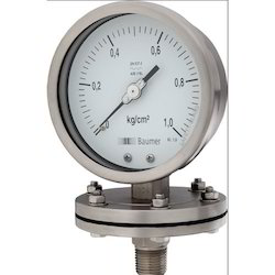 Steel Case Low Pressure Gauge