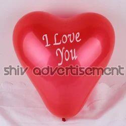 Heart Shape Printed Balloon