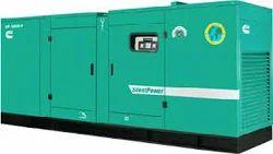 Acoustic Silent Diesel Generator On Hiring