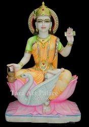 Marble Maa Gayatri Statue