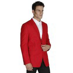 Regular Fit Blended Mens Casual Suit