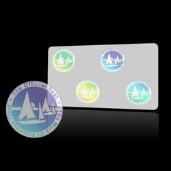Holographic PVC Card Overlay Mark of business