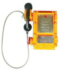Flameproof & Weatherproof Telephone Instrument