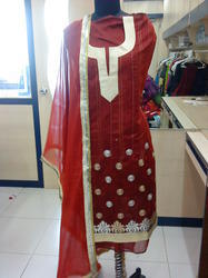 Machine Embroidered Kurti