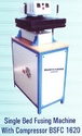 Single Bed Fusing Machine