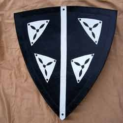 Small Leather Shield