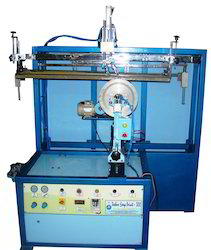 Semi Automatic Bucket Screen Printing Machines