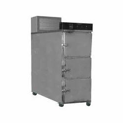 3 Body Mortuary Cabinets
