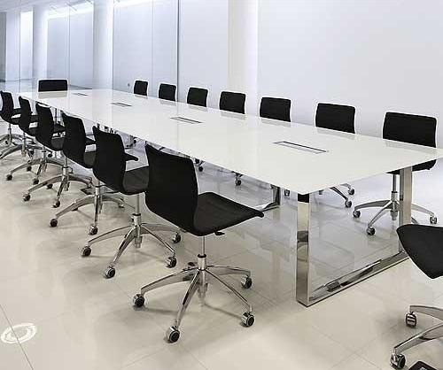 Delightful Glass Conference Table