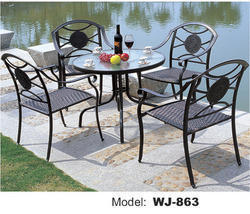 Outdoor Metal Furniture Set