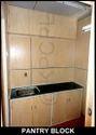 PUF Porta Pantry Cabin