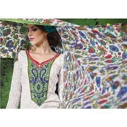 Cotton Printed Suits with Plazo