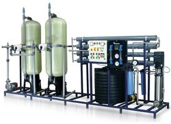 Industrial RO Water Treatment Plant, Semi-Automatic, Reverse Osmosis Unit