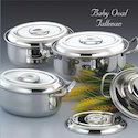 Baby Oval Jallman Stainless Steel Utensils Set