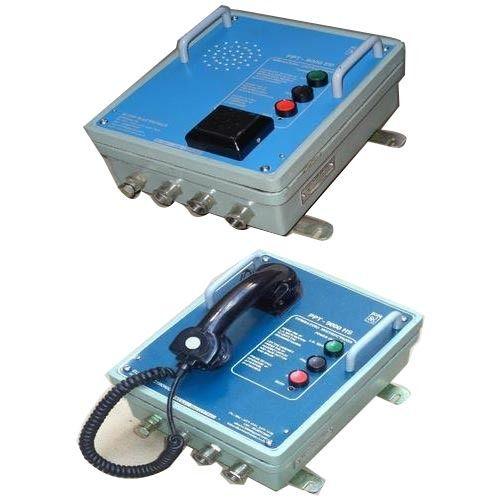 Power Plant Communication System - Acoustic telephone Hood