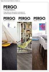 PERGO Laminate Flooring/Wood Parquet/Luxury Vinyl
