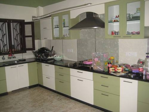 Modern Kitchen Interior Design Tv Unit Service Provider From Kanpur