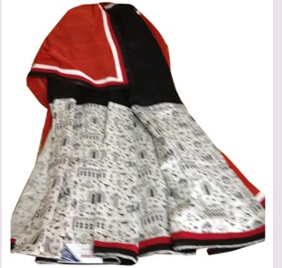 Cotton Half And Half Saree