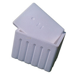 White Thermocol Ice Boxes
