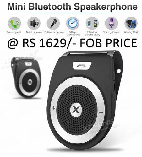 Car Bluetooth Speaker Phone Car Bluetooth Mini Speakerphone Wholesaler From Bengaluru