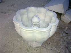 Round Marble Fountain