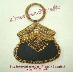 Bag Jardoshi Work with Antic Bangle 2