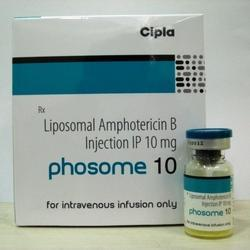 Phosome Liposomal Amphotericin B Injection, Packaging Type: Glass Ampoules