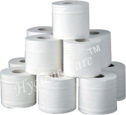 paper White Toilet Tissue Roll, Size: 5 Inch