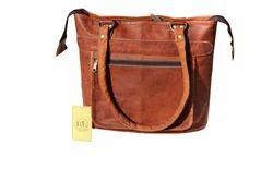 Women Goat Leather Bag / Handbag / Shoulder Bag