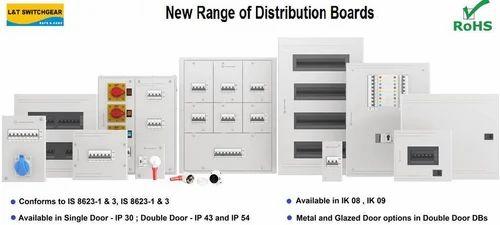 Automatic Plastic L&T Distribution Boards, DC