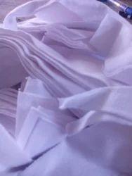 White Cotton Clour Waste