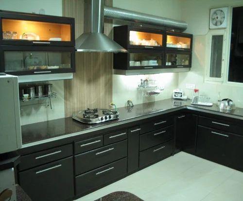 fancy modular kitchen, living room & plastic furniture   queen