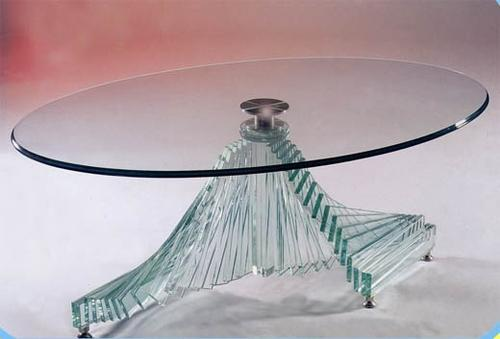 Decorative Glass Table Top