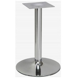 round chrome table stand star decor corporation manufacturer in