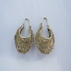 Antique Brass Earrings