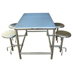 Stainless Steel Tables & Chairs