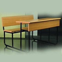 Class Room Dual Desk Table