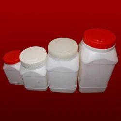 Plastic Modern Square Jars