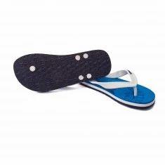 Gas Men White Flip Flops