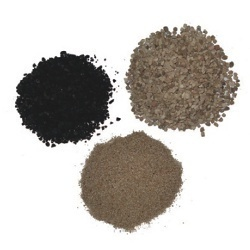 Sand and Carbon Resin Anion
