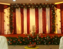 Wedding decoration in kannur reception ring exchange stage decoration junglespirit Image collections