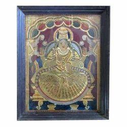Goddess Lakshmi Tanjore Painting