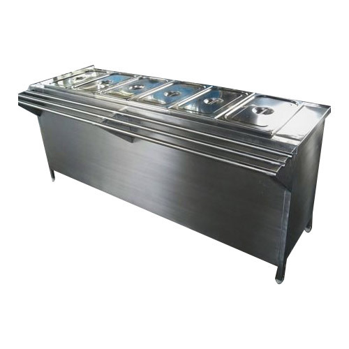 Custom Ss Products Ss Bain Marie Counters Manufacturer