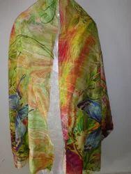 Fashionable Silk Digital Printed Stoles