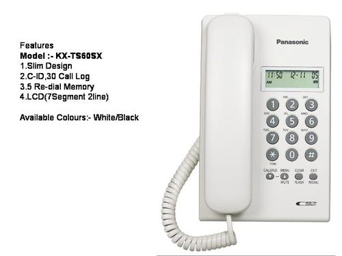Panasonic Tsc 60 Caller Id Basic Phone