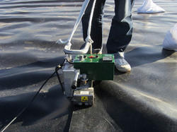 HDPE Sheet Installation