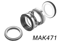 MAK471 Elastomer Bellow Seals