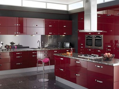Decorative Modular Kitchen, Kitchen & Dining Furniture | Shiv Shakti ...